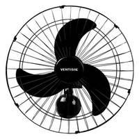 Ventilador de Parede Ventisol 50cm Preto 127V