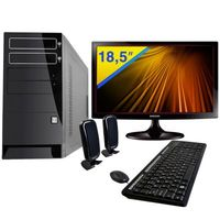 Computador Philco AMD A6 3500 4GB 750GB Windows 8 + Monitor LED 18.5 Samsung S19C300