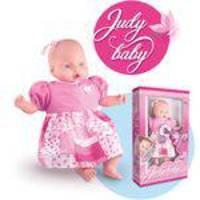 Boneca Judy Baby Frases 48Cm. Milk