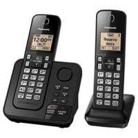 Telefone Panasonic KX-TGC362LAB Preto