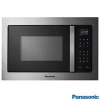 Micro-ondas de Embutir Panasonic Style NN-GB68HSRUK Grill 30 Litros Inox