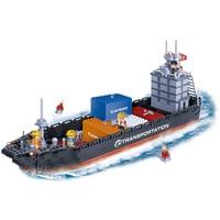 Transporte Navio Container 716 Peças Banbao Brinquedos