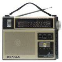 Rádio Portátil Benoá KK206 4 Bandas Alarme