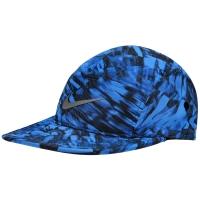 Boné Nike AW84 Graphic Azul e Preto  bdf2e868872