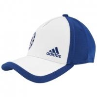 118d142d3f Boné Adidas Chelsea Fitted Azul e Branco