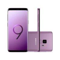 "Smartphone Samsung Galaxy S9 SGG960 4G 128GB 5.8"" Dual Chip Desbloqueado Android 8.0 Violeta"