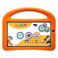 Tablet DL PlayKids 3G Android 5.1 Processador Intel Quad Core 1.2GHz 8GB 7.0 Branco