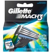 Carga para Aparelho Gillette Mach 3 Regular 3 Unidades