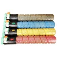 Kit Colorido 4 Cores para Toner Compatível Ricoh MP-C2050 MPC2050 Aficio MP C2051 C2551 C2030 C2530 C2050 C2550 C2050SFP