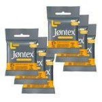 Kit Jontex Preservativo Lubrificado Frutas Cítricas - 6 Unid.