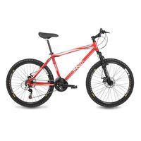 Bicicleta MZZ-100 Fire Aro 26 21 MZZ 100 Vermelho Mazza Bikes