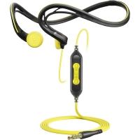 Fone de Ouvido Sennheiser Adidas Intra-Auricula Sports PMX 680i Preto e Amarelo