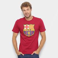Camiseta Barcelona Nike Evergreen Crest Masculina - Masculino 1479fe8f70734