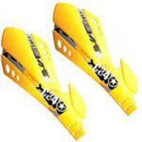 Protetor De Mão Sx Amarelo( Freio A Disco ) - Par - Circuit -Midas Motos