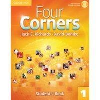 Four Corners Level 1 Student´s Book + Self-study Cd-rom