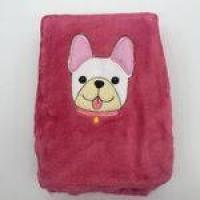 Manta Soft Microfibra Cmxm Cachorro Rosa - Baby Joy Ref