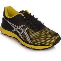 tênis asics gel speedstar 6 preto e amarelo
