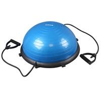 Meia Bola de Ginástica Bosu Kikos Azul e Preto