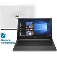 Notebook Dell Inspiron i15-5566-A60B Core i5 7200U 2.5GHz 8GB 1TB Windows 10 Branco