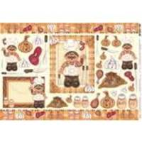 Papel Decoupage Grande Churrasco Pd-133 Litoarte
