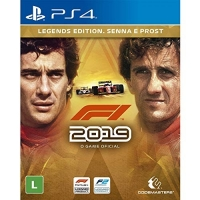 F1 2019 Legends Edition - PlayStation 4 Sony