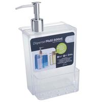 Dispenser Multi Brinox 20719/0009 600ml Transparente