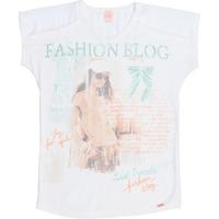Camiseta Joy Silk Feminina