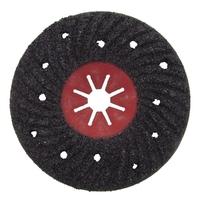Disco Semi-Rígido Estriado para Polimento 180 x 22 mm Black Jack