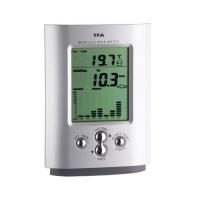 Pluviômetro Digital Sem Fio com Sensor e Transmissor Incoterm 4760 Branco