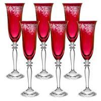 Conjunto De Taças Para Champagne Rona Ancona 160ml 6 Peças