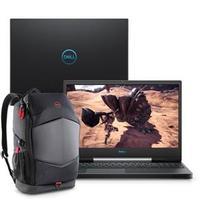 Notebook Gamer Dell G5-5590-A25BP i7-9750HQ 16GB 1TB 128GB 4.5GHz 15.6 Windows 10 Preto + Mochila