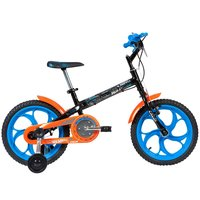 Bicicleta Caloi Hot Wheels 2017 Aro 16 Azul