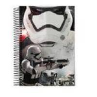 Caderno Universitário 15x1 300f Cd 61592-16 Star Wars Filme Jandaia
