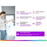 Impressora Multifuncional Hp Deskjet Ink Advantage 2774 Jato De Tinta Colorida Wi fi Usb