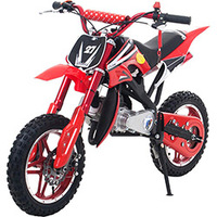 Mini Moto Bull Motors Cross BK-DB08 49CC Vermelha