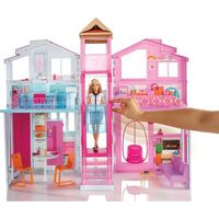 Playset Mattel Real Super Casa 3 Andares Barbie