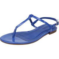 Sandália Anacapri Rasteira Azul Marinho