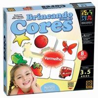 Jogo Grow Brincando com As Cores 02440