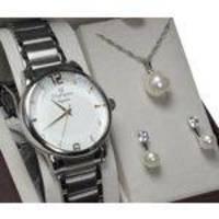 Kit Relógio Champion Crystal Feminino CN25529Y