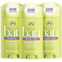 Ban Desodorante Stick SHOWER FRESH - 73G - 3 Unidades