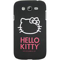 Capa para Celular Case Mix Galaxy G Duos Hello Kitty Cristais Policarbonato Preta