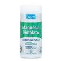 Magnésio Dimalato Com Vitamina K2 Stem Pharmaceutical - 60 Comprimidos Revestidos