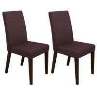 Kit com 2 Cadeiras Madesa Ampliare Brenda Troia