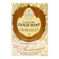 Luxury Gold Soap 60 Aniversary Nesti Dante Sabonete Líquido 500ml