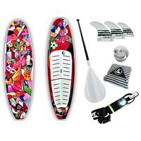 Prancha Soul Fins Stand Up Paddle Multi Color 100 + Multicolorido