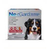 Antipulgas E Carrapatos Nexgard Merial Para Cães De 25,1 A 50kg - 3 Tabletes