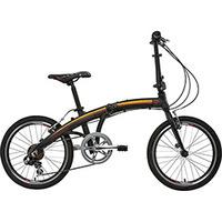 Bicicleta Dobrável Tito Bike To Go 20 Preta