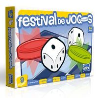 Conjunto Com 9 Jogos Festival De Jogos Toyster