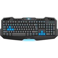 Teclado E-Blue Gamer Usb Mazer Type-G Preto e Azul