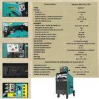 Solda Mig 300 Amperes à 100% Vulcano MIG 412 c/ 4 Roldanas BALMER